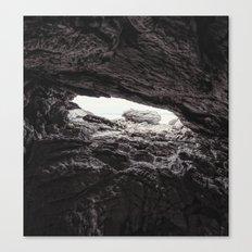 Shallow Cave Canvas Print