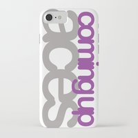 asexual iPhone & iPod Cases featuring coming up aces by Brizy Eckert