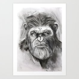 Caesar: War for the Planet of the Apes Art Print