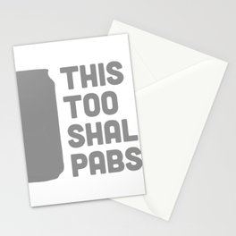 This Too Shall Pabst Stationery Cards