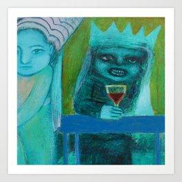 Mer Vin! Art Print