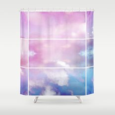 Pastel Sky II Shower Curtain