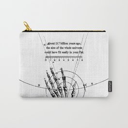 A Universe in a fist. Carry-All Pouch