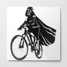 Darth Vader bicycle Metal Print