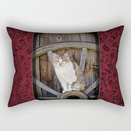 Rustic Ruby Rectangular Pillow