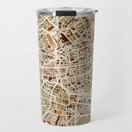 Berlin Germany Street Map Travel Mug