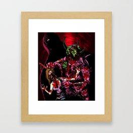 NECROBEAST Framed Art Print