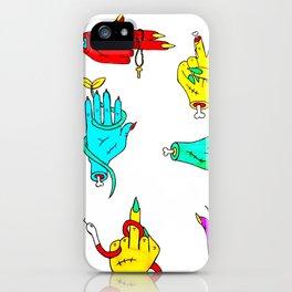 Zombie Handz iPhone Case