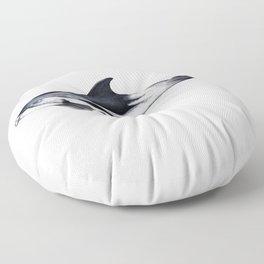 White-beaked Dolphin Floor Pillow
