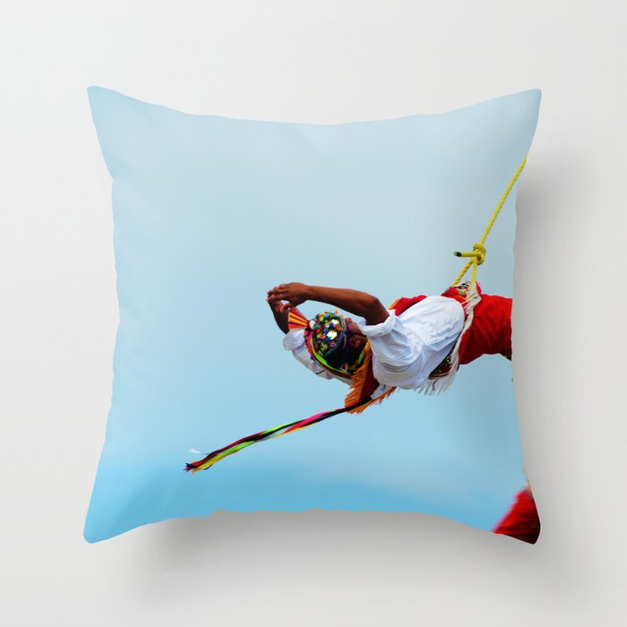 Flying artist collection _03 Throw Pillow