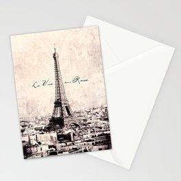 la Vie en Rose vintage Stationery Cards