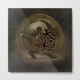 Tai Chi Metal Print
