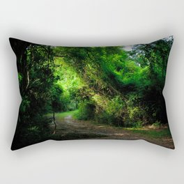 A Lost Alley Way Rectangular Pillow