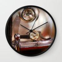 silver Wall Clocks featuring Silver by Lia Bernini