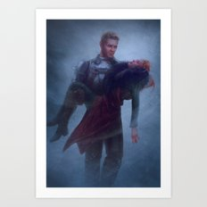 Cullen and Inquisitor - Rescue Art Print