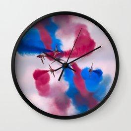 Sky watercolors Wall Clock