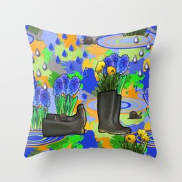 March 21 Throw Pillow