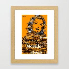 Lorna Morello (Yael Stone) OITNB Framed Art Print