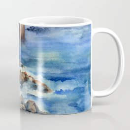 Walking with Steinbeck on Cannery Row Coffee Mug