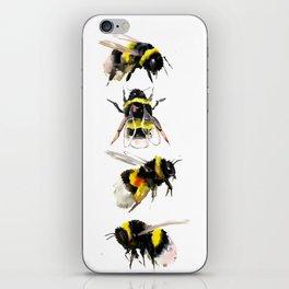 Bumblebee, Bee art, bee design, bees iPhone Skin