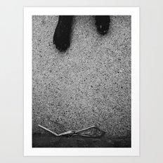 De-Saturated Pup Art Print