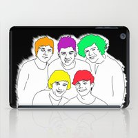 1d iPad Cases featuring 1D punked by Rebecca Bear