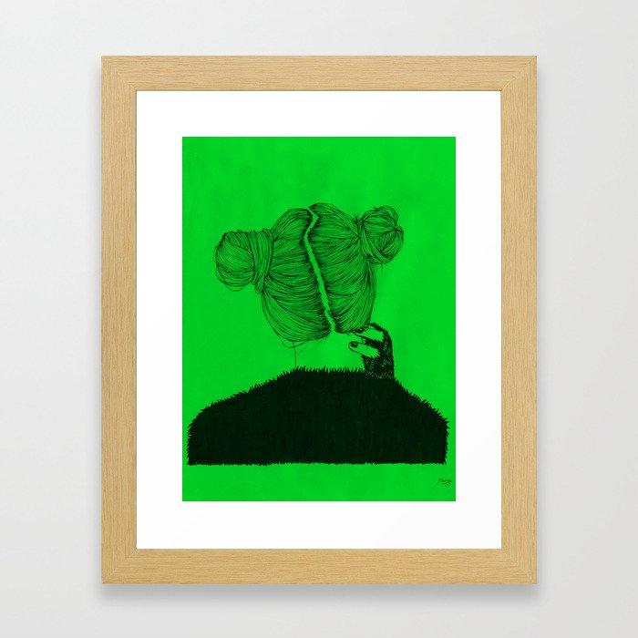 Seventeen Seconds Framed Art Print