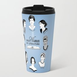 Great Women of Literature Travel Mug
