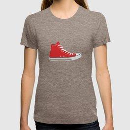Red Converse Shoe T-shirt