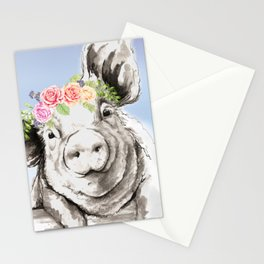 Petunia Pig Stationery Cards
