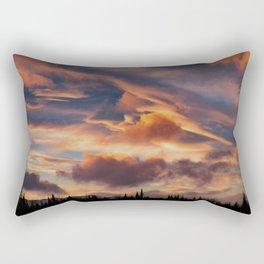 Good Morning Anchorage, Alaska Rectangular Pillow