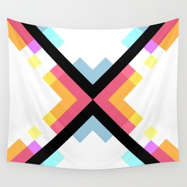 Abstract Retro Pattern 05 Wall Tapestry
