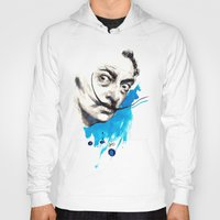 dali Hoodies featuring Dali by Mitja Bokun