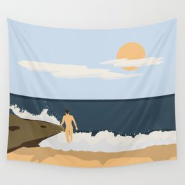 Private Beach 2 Wall Tapestry