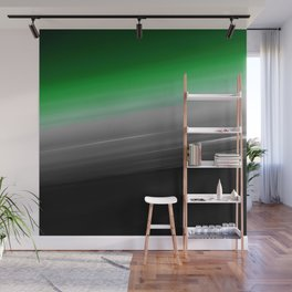 Green Gray Black Ombre Wall Mural