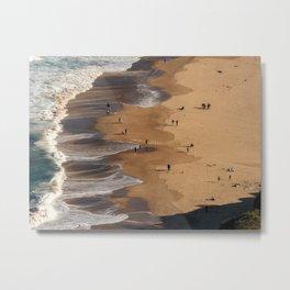 Stanwell Park Beach Metal Print