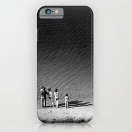 Look Into the Abyss iPhone Case