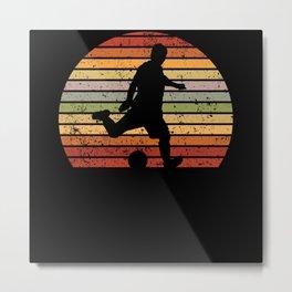 Soccer Player Soccer Player Gift Present Idea Metal Print