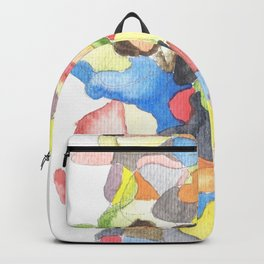 Life and Meaning 5| Abstract Watercolors Backpack