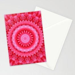 Mandala Rose petals Stationery Cards