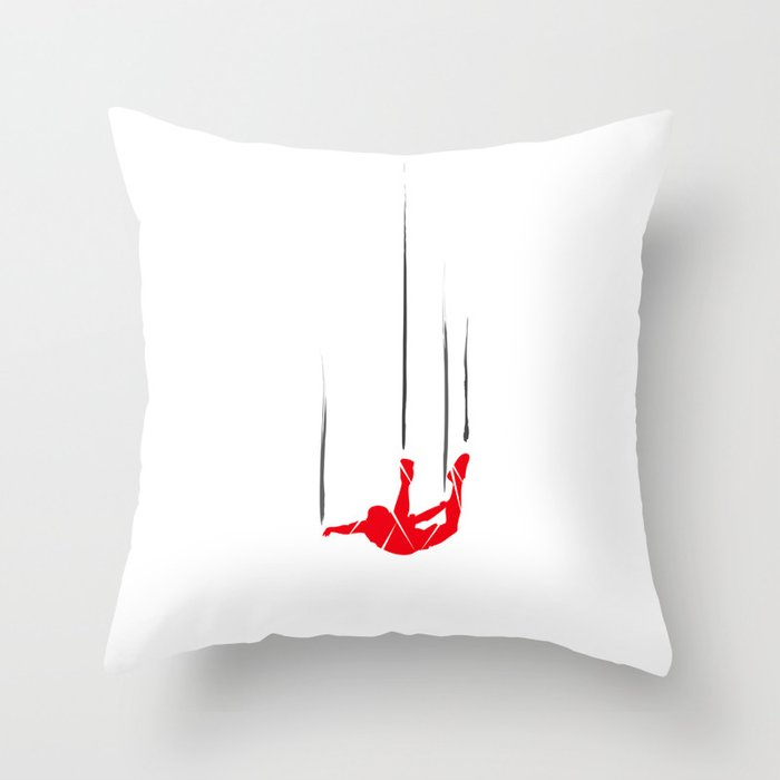 FS Collection - SkyDiving Throw Pillow
