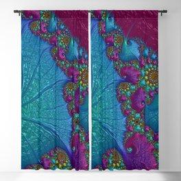 Blue Cotton Candy Blackout Curtain