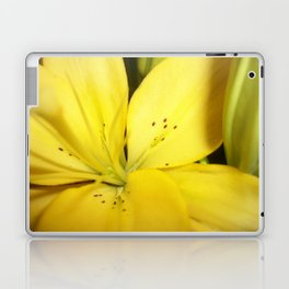 Yellow Tiger Lily Laptop & iPad Skin