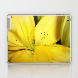 Yellow Tiger Lily Laptop & iPad Skin
