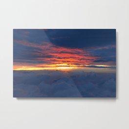 Sunrise on Station 8.5 Metal Print