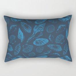 Tropical sea shells Rectangular Pillow