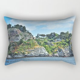 Taormina, Sicily II Rectangular Pillow