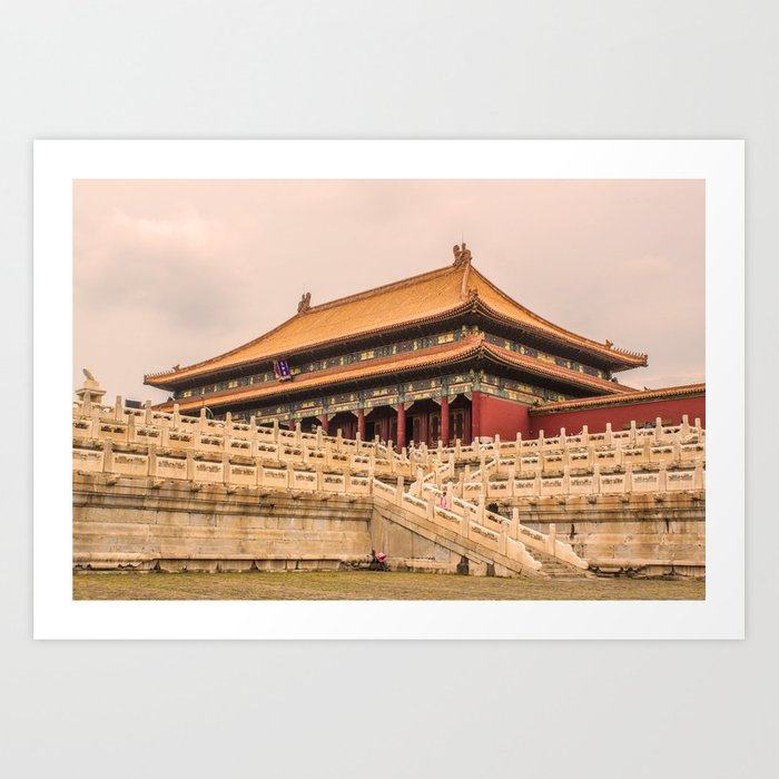 Beijing China Art Print
