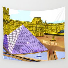 Bonjour Wall Tapestry