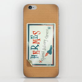 Hermes Special Delivery Service iPhone Skin